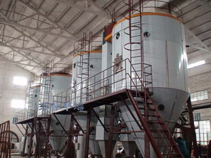 high-speed centrifugal spray dryer
