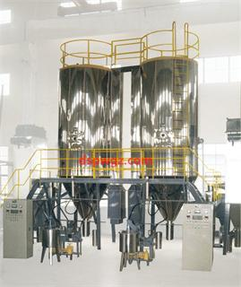 pressure-spray granulating and drying machines